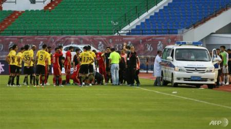 Klub Liga Super China, Wuhan Zall memutuskan kembali ke Kota Wuhan setelah virus corona menyerang Spanyol. - INDOSPORT
