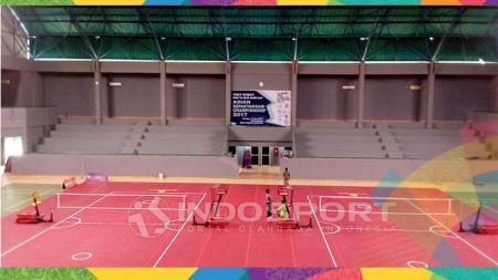 Lapangan Sepak Takraw. - INDOSPORT