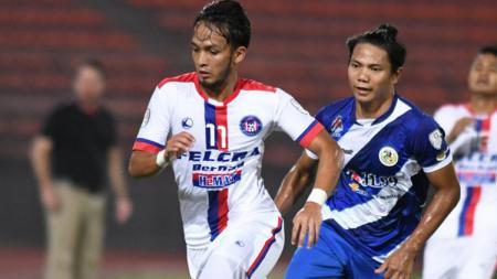 Achmad Jufriyanto saat perkuat Kuala Lumpur FA. - INDOSPORT