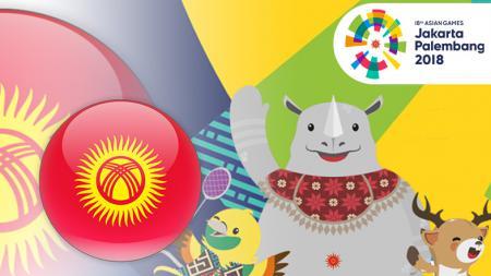 Kyrgyzstan di Asian Games 2018. - INDOSPORT
