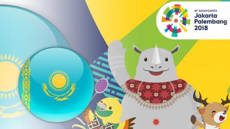 Kazakhstan Asian Games 2018 - INDOSPORT