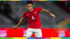 Indosport - Evan Dimas, pemain Timnas U-23 di Asian Games 2018.
