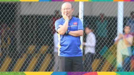 Hang-seo Park pelatih Timnas Vietnam di Asian Games 2018. - INDOSPORT
