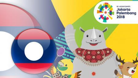 Laos di Asian Games 2018 - INDOSPORT