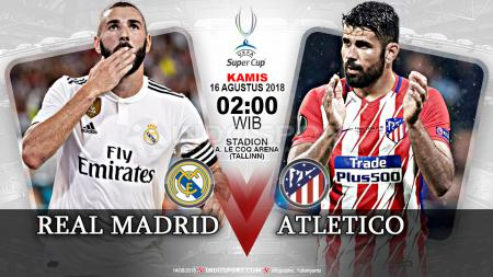Real Madrid vs Atletico Madrid (Prediksi) - INDOSPORT
