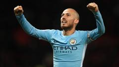 Indosport - David Silva ingin 'menggenapkan' masa baktinya selama 10 tahun di Manchester City dan hengkang setelah musim 2019/20.
