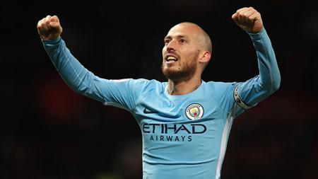 David Silva ingin 'menggenapkan' masa baktinya selama 10 tahun di Manchester City dan hengkang setelah musim 2019/20. - INDOSPORT