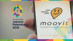 Indosport - Aplikasi Moovit di Asian Games 2018 adalah produk jebolan Israel.