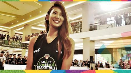 Maria Selena jadi salah satu tokoh yang memeriahkan kirab obor Asian Games 2018 di Jakarta. - INDOSPORT