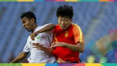 Indosport - Jalannya pertandingan antara China vs Timor Leste di Asian Games 2018