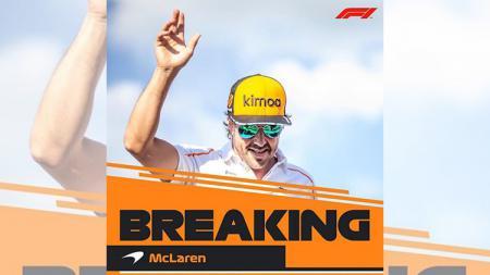 Fernando Alonso umumkan pensiun - INDOSPORT