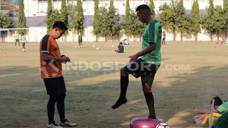 Persebaya Surabaya tampaknya melakukan manuver yang jitu dalam melakukan perburuan pemain di Liga 1 2018. Raphael Maitimo. - INDOSPORT