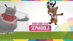 Indosport - Atung maskot Asian Games 2018 sepakbola.