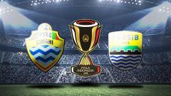 Indosport - PSKC Cimahi vs Persib Bandung.