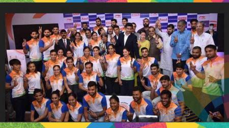 Kontingen India yang bertanding di Asian Games 2018. - INDOSPORT