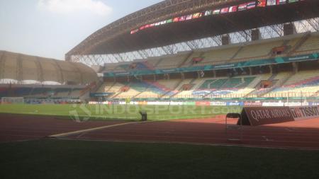 Stadion Wibawa Mukti, Cikarang akan menjadi lokasi pertandingan Persija Jakarta saat menjamu Borneo FC. - INDOSPORT