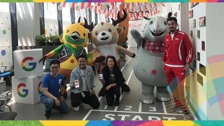 Acara Google untuk Asian Games 2018. - INDOSPORT