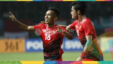 (GALERI FOTO) Momen Perjuangan Timnas Indonesia U-23 vs Palestina U-23