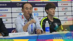 Indosport - Pelatih Timnas Korea Selatan U-23 di Asian Games 2018, Kim Hag Bum.