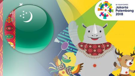 Turkmenistan Asian Games 2018. - INDOSPORT