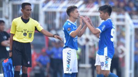 Kim Kurniawan saat comeback bersama Persib di laga Piala Indonesia. - INDOSPORT