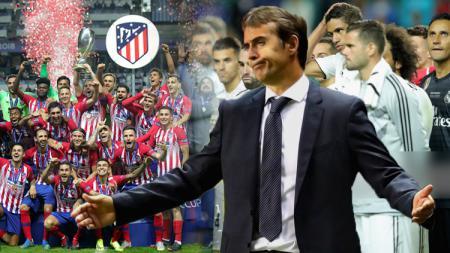 3 dosa besar yang dilakukan Real Madrid di pertandingan Piala Super Eropa kontra Atletico Madrid. - INDOSPORT