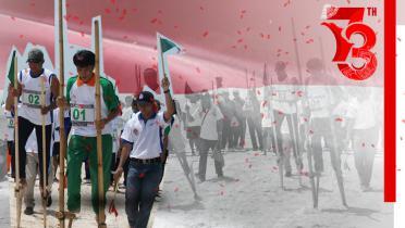 Lomba Enggrang: Olahraga Menyenangkan yang Hampir Punah 'Ditelan' Zaman