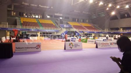 Venue Sepak Takraw Asian Games 2018. - INDOSPORT