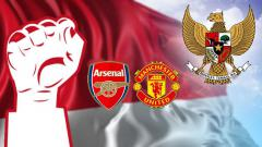 Indosport - Arsenal dan Man United ucapkan selamat hari kemerdekaan Indonesia yang ke-73.