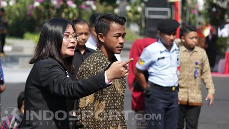 Mochammad Supriadi diundang dalam HUT RI di Surabaya oleh Tri Rismaharini. - INDOSPORT