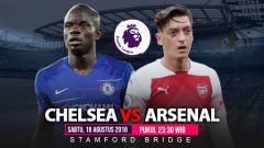 Indosport - Link Siaran Langsung Liga Primer Inggris: Chelsea vs Arsenal