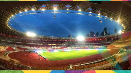 Stadion Gelora Bung Karno tempat penyelenggara pembukaan Asian Games 2018. - INDOSPORT