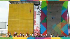 Indosport - Arena Panjat Tebing Jakabaring.