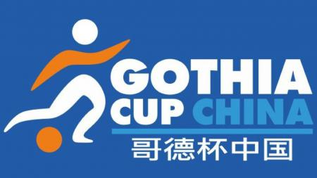 Logo Gothia Cup China. - INDOSPORT