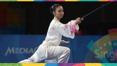 Indosport - Atlet wushu Indonesia di Asian Games 2018, Lindswell Kwok.