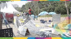 Indosport - Arena Skateboard Asian Games 2018.