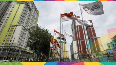 Wisma Atlet untuk kontingen Asian Games 2018. - INDOSPORT