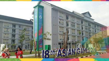 Situasi wisma atlet Asian Games 2018. - INDOSPORT