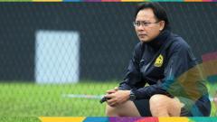 Indosport - Ong Kim Swee berikan ungkapan sombong setelah berhasil mengalahkan Korea Selatan.