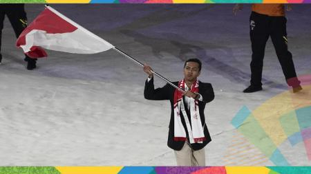 Siman Sudartawa di ajang SEA Games Malaysia lalu. - INDOSPORT