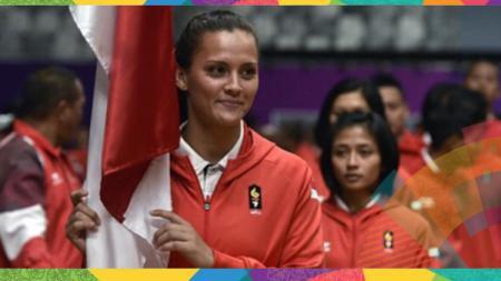Atlet Juijitsu Indonesia Simone Julia. - INDOSPORT