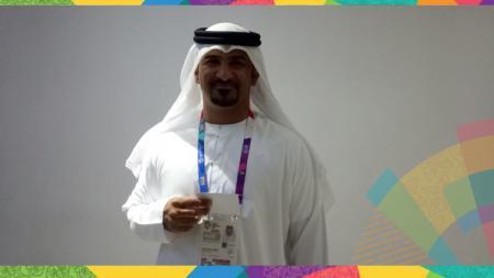 Chief de Mission Arab Saudi, Alblooshi Ahmad. - INDOSPORT