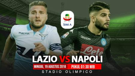 Lazio vs Napoli. - INDOSPORT