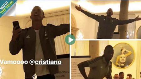 Ronaldo 'kena ospek' di Juventus jelang laga debutnya. - INDOSPORT