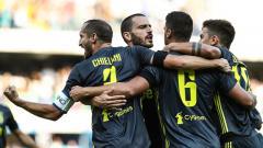 Indosport - Perayaan gol Sammi Khedira