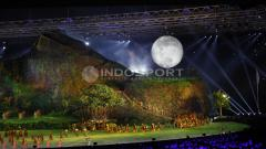 Indosport - Kemeriahan Opening Ceremony Asian Games 2018.
