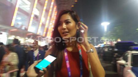 Maria Selena puji kemegahan acara pembukaan Asian Games 2018. - INDOSPORT