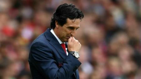 Unai Emery, pelatih Arsenal. - INDOSPORT