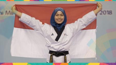 Defia Rosmaniar sumbangkan emas pertama untuk Indonesia. - INDOSPORT