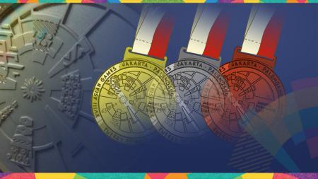 Medali Asian Games 2018 - INDOSPORT